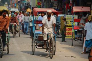 street bicycles of India