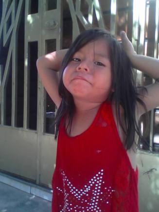 Daughter of Anibal Peralta South America