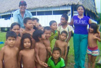 Mission children..South America..Anibal Peralta